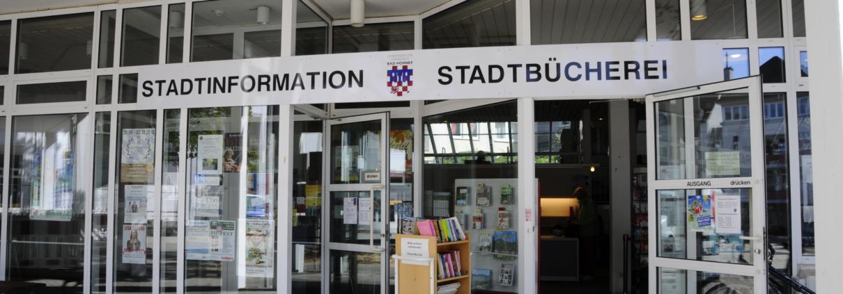 Eingangsbereich der Stadtbücherei