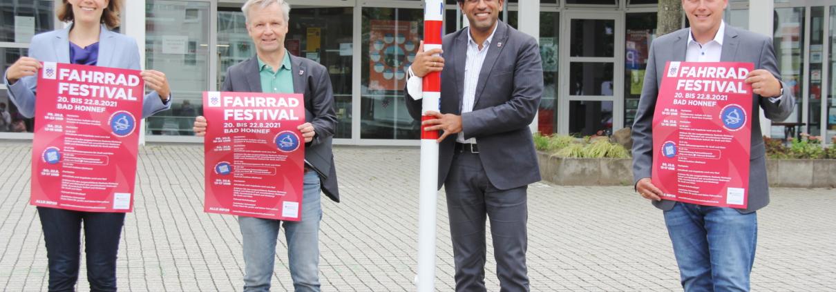 Vom 20. bis 22. August findet in Bad Honnef das erste Fahrradfestival statt.