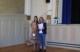 Im Kursaal vor dme Mikrofon: Seniorenbeauftragte Iris Schwarz (links) und Christinae Hüler vom Sozialpsychiatrischen Zentrum Eitorf/Siebengebirge