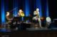 TRIO im Kursaal Bad Honnef (v.l. Jo Barnikel; Fany Kammerlander, Konstantin Wecker)