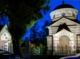 Mausoleum bei Nacht