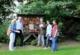 Foto – von vorne nach hinten - von links nach rechts: Cornelia Weiß (Drachenfelsschule), Lothar Rendel (Parkfreund Reitersdorfer Park) Maria-Elisabeth Loevenich (Netzwerkkoordinatorin), Daniela Paffhausen (BHAG Marketingleiterin) Dr. Dirk Krämer (Privatschule Schloss Hagerhof)
