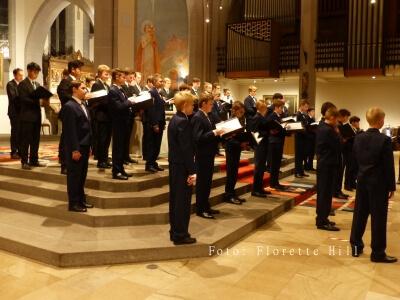 Blick von der Seite auf den Chor