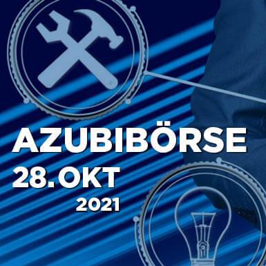 Link zur Azubibörse am 28. Oktober 2021